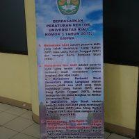 Sosialisasi Status Mahasiswa Universitas Riau