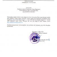 Perubahan Jadwal Registrasi SNMPTN